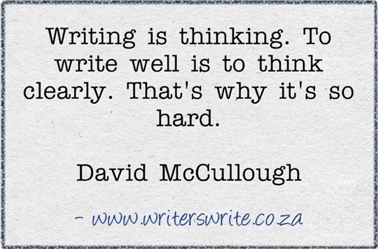 David McCullough Writing Quote