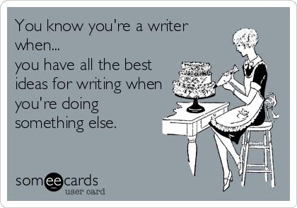 How writers write